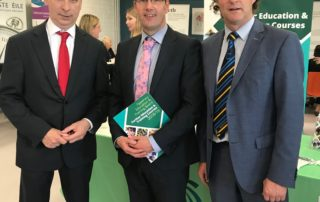Joe MacGrath, Chief Executive,Tipperary Co. Council; Joe Leddin, Mid West Regional Skills Forum; Councillor John Hogan, Chairman, Tipperary Education & Training Board