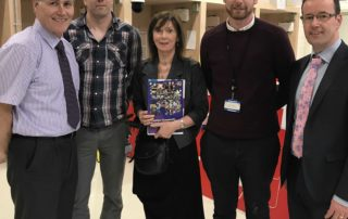 Edmond Connolly, South East Regional Skills Forum; Frank Coleman, Tipperary Education & Training Board; Attracta Lyons, Tipperary County Council; Ross D'Estelle Roe, Tipperary Education & Training Board; Joe Leddin, Mid West Regional Skills Forum