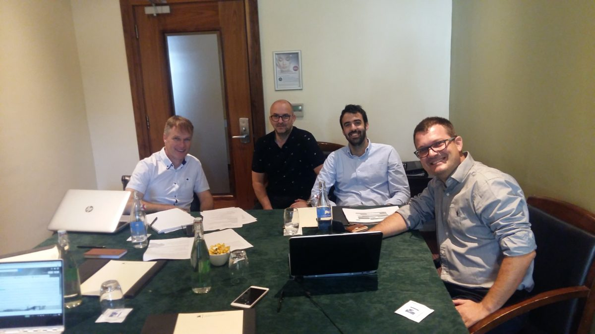 Representatives from University of Applied Sciences, Western Macedonia; CEEIM Murcia, Spain & Tipperary County Council;